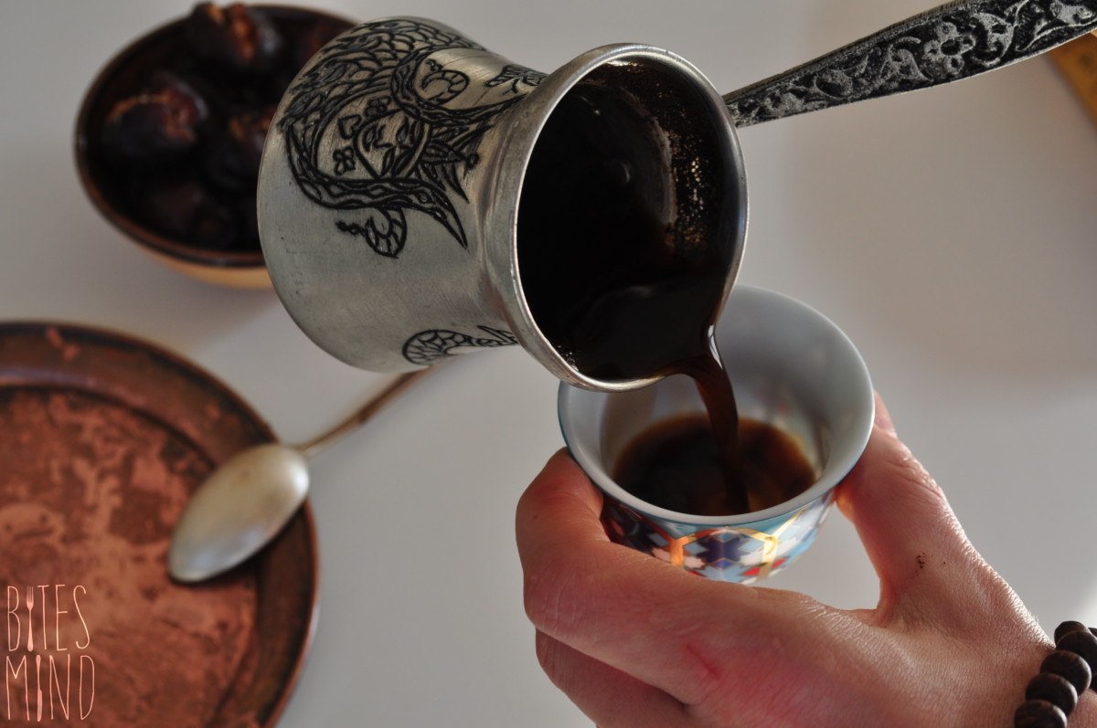 Arabic palestinian coffee
